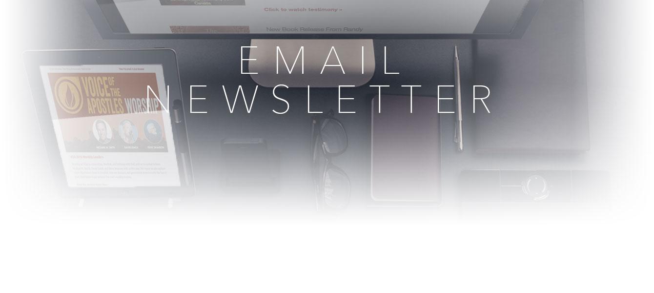 emailnewsletter banner